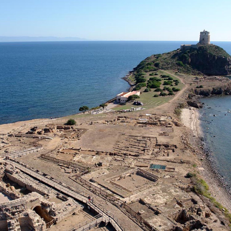 nora sito archeologico